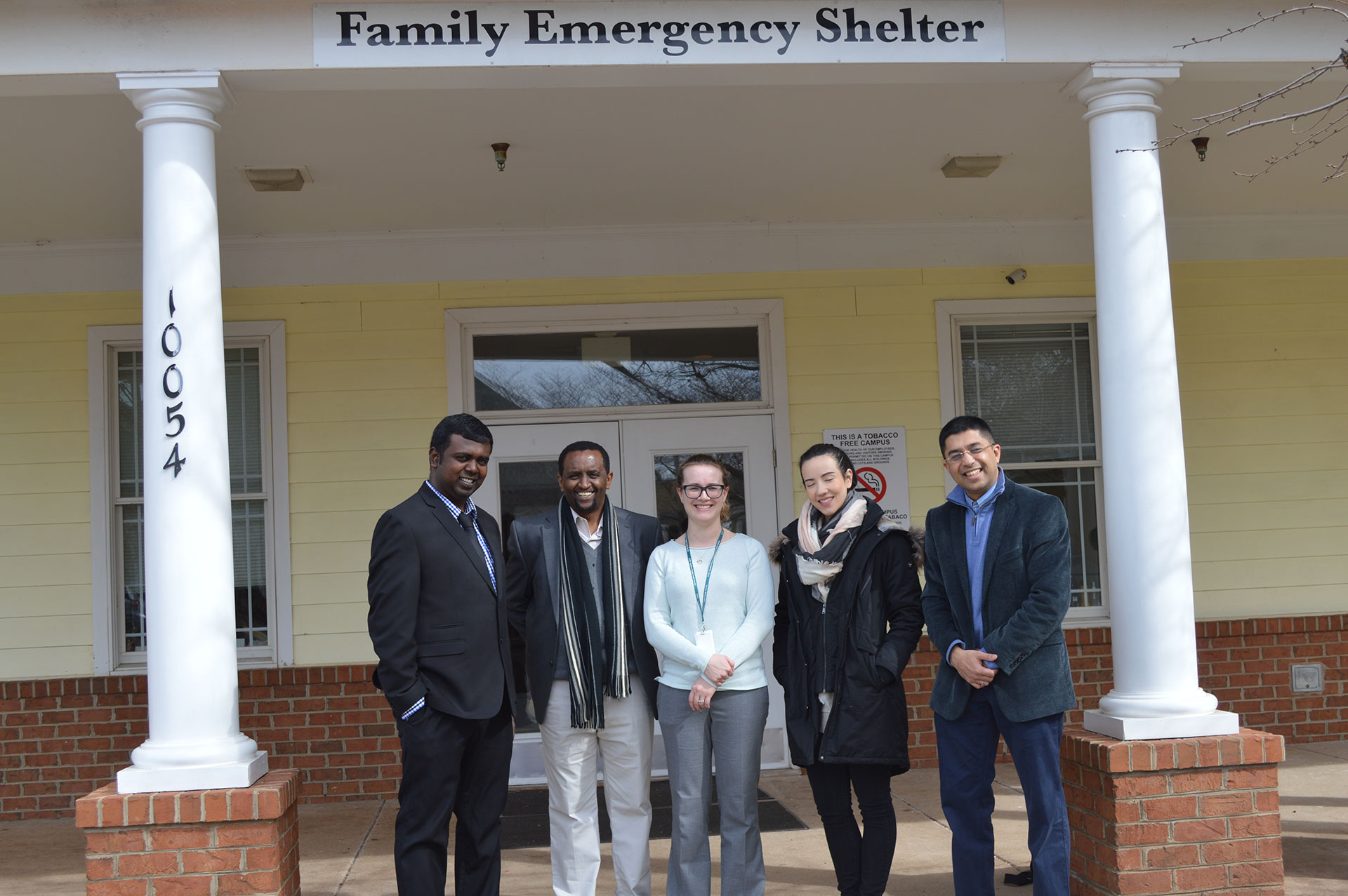 Northern Virginia Family Service (NFVS) shelter